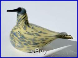 AUTH Golden Thrush 2013 Oiva Toikka Bird iittala