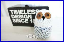 AUTH iittala Oiva Toikka MOG Bespoke bird Owlet Lumi Limited to 300