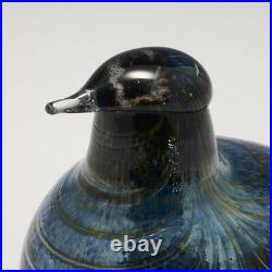 A Nuutajarvi Glass Bird c1990