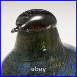 An Iittala (Nuutajarvi) Glass Bird