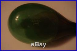 Beautiful Toikka Green Waterbird Bird only 12 pieces made in 2009 Glass Bird