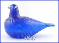 Birds by Toikka Blue Bird Sinisulka 85 x 130 mm Iittala