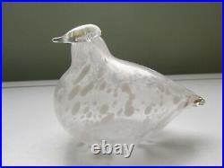 Birds by Toikka, Rare Special Toikka Bird Signed Lamino Oy