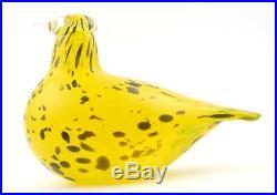 Birds by Toikka Special Bird Stockmann Dove Kyyhky 150 x 95 mm Iittala
