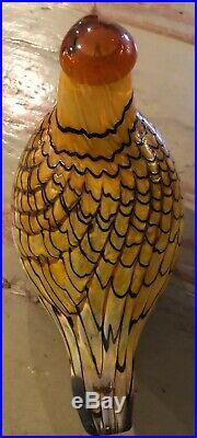 Birds by Toikka Summer Grouse Kesäriekko 150 x 110 mm Iittala Finland