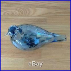 Blue Sapphire Aqua Iittala Bird Oiva Toikka