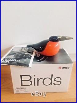 Cool Limited Edition! Kingfisher glass bird 245/750 Oiva Toikka Nuutajärvi NIB