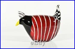 Finland Glas Bird °Massivglas° Paperweight° Finland No Iittala °°