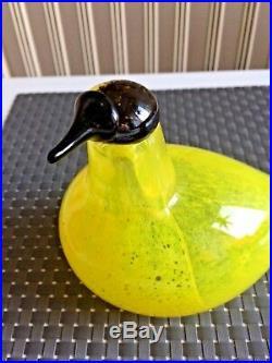 Glass bird SSKK bird Liivia 285/300! Oiva Toikka Nuutajärvi Finland NIB