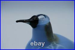 IITTALA /nuutajarvi BIRD BY O. TOIKA. BIRD taivaankuovi SKY CURLEW. RARE