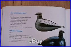 IITTALA /nuutajarvi BIRD BY O. TOIKKA. LONG TAILED DUCK DESIGN 1981