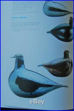 IITTALA /nuutajarvi LARGE BIRD BY O. TOIKA FASAANI PHEASANT 24 CM X 15 CM