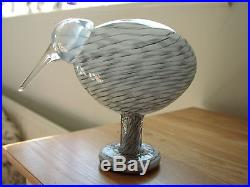 IIttala Finland Art Glass Beach Kiwi From the Birds Range By Oiva Toikka 2005