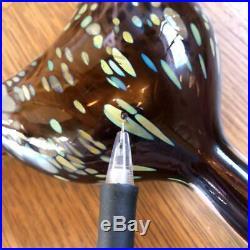Iittala Bird Song Trush Oiba Toikka H18.5W6.516mm with seal NO BOX TW639