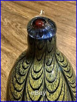 Iittala Bird by Oiva Toikka 11 Large Pheasant Collectible
