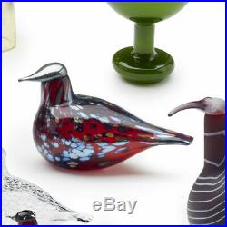 Iittala Birds By Toikka Ruby Bird Cranberry