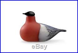 Iittala Birds of Toikka Mouthblown Glass Bird, Bullfinch (BR002272)