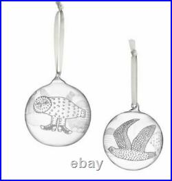 Iittala Christmas Ball Collectible Toikka Birds Mouth Glass 2016 original NEW