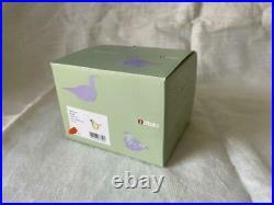 Iittala Cieppo Bird Lemon × Blue color Tokyo limited edition only 300 pieces