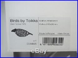 Iittala Finland OIVA TOIKKA Knitter 2010 BIRDS BY TOIKKA