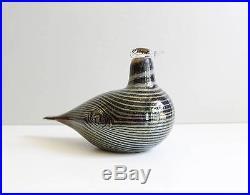 Iittala Finland Oiva Toikka Glass Bird Sculpture Nuutajarvi