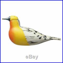 Iittala Finn Fest Blackburnian Warbler Bird by Oiva Toikka 2017