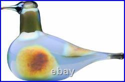 Iittala Mouth-blown Glass Bird Design By Oiva Toikka Decorative Collectors Item