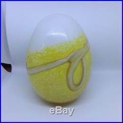 Iittala Nuutajärvi Oiva Toikka Annual Bird Egg 2006 Steller´s Eider egg Finland