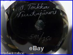 Iittala Nuutajärvi Oiva Toikka Annual Bird´s Egg 2003 Wildwood Cuckoo