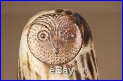 Iittala Nuutajärvi Oiva Toikka Bird Eagle Owl Huuhkaja RARE