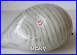 Iittala OIVA TOIKKA Art Glass Bird, Baby Dove, Excellent Condition