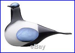 Iittala OIVA TOIKKA Art Glass Bird Magpie NIB