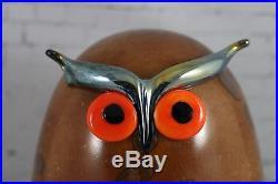 Iittala OIVA TOIKKA Art Glass Bird UHU owl NIB