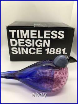 Iittala Oiva Toikka American Kestr Bird From Japan Fedex Free Shipping