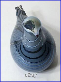 Iittala Oiva Toikka Annual Bird Vuono 2019 Art Glass New in Box Finland 8.5