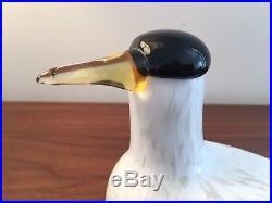 Iittala Oiva Toikka Arctic Tern Glass Bird RARE