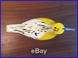 Iittala Oiva Toikka Blackburnian Warbler Glass Bird 2017 Finn Fest Annual Bird