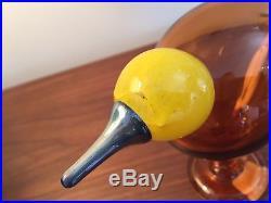 Iittala Oiva Toikka Dynnia Glass Bird