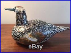 Iittala Oiva Toikka Female Duck Glass Bird
