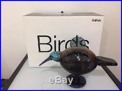 Iittala Oiva Toikka Festive Catcher Glass Bird