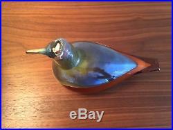 Iittala Oiva Toikka Harvest Puffball Glass Bird