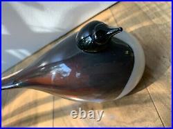 Iittala Oiva Toikka Latohaapana Glass Bird EXTREMELY RARE