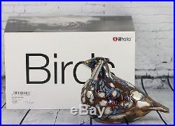 Iittala Oiva Toikka Limited edition bird RUFFED GROUSE, signed & numbered, NIB
