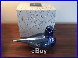 Iittala Oiva Toikka Night Tern Glass Bird Rare