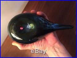 Iittala Oiva Toikka Pacific Waterfowl Glass Bird VERY RARE