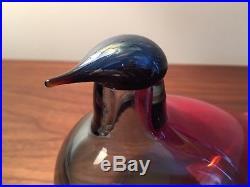Iittala Oiva Toikka Seoul Bird Glass Bird RARE