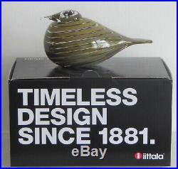 Iittala Toikka Whip Poor Will Glass Bird (Willow Eagle /Pajusotka) New in Box