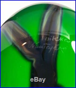 Large Oiva Toikka Green Lapwing Bird Nuutajavi Iittala 9C