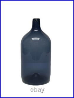 Lintupullo Bird Bottle, Timo Sarpaneva, Glass Decanter Carafe Pitcher, Iittala
