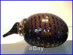 Little Kiwi glass bird by Oiva Toikka My Iittala collection NEW